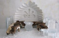 Escultura do gelo Foto de Stock