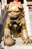 Escultura do leão Fotografia de Stock Royalty Free