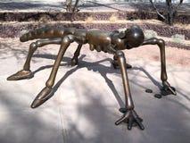Escultura do morador do deserto do Arizona Fotos de Stock Royalty Free