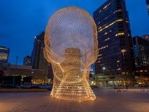 Escultura do país das maravilhas, Calgary Fotos de Stock