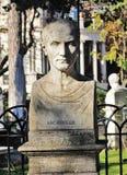 Escultura do peito do ` de Archimedes em Roma, Foto de Stock Royalty Free
