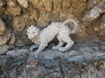 Escultura do puma Imagens de Stock