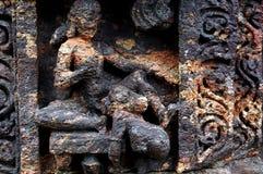 Escultura do templo Foto de Stock