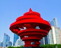 Escultura do vento de maio Fotos de Stock Royalty Free