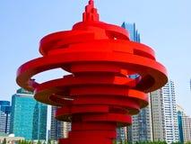 Escultura do vento de maio Imagem de Stock