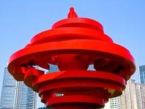 Escultura do vento de maio Fotografia de Stock