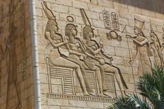 Escultura egípcia imagem de stock