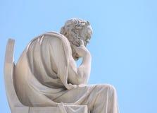 Escultura em Grécia foto de stock royalty free