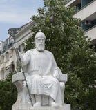 A escultura em skopje, Macedônia Fotos de Stock Royalty Free