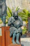 Escultura en Alfarero del Arguayo Fotografía de archivo libre de regalías