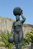 Escultura en Alfarero del Arguayo Imagen de archivo