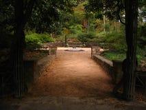 Escultura en duque Gardens Fotos de archivo