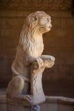 Escultura en el claustro de DOS Jeronimos de Mosteiro Fotos de archivo