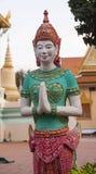 Escultura en el monasterio budista Foto de archivo libre de regalías