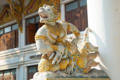 Escultura en el templo Fotos de archivo libres de regalías