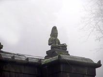 Escultura en el templo Imagen de archivo