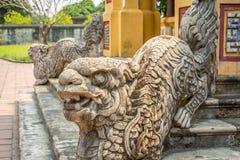Escultura en la ciudad imperial de la tonalidad imagenes de archivo