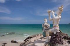 Escultura en la isla samed Fotografía de archivo libre de regalías