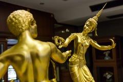 Escultura en museo tailandés Fotos de archivo libres de regalías