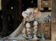 Escultura en sal Foto de archivo libre de regalías