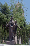 Escultura en Toluca de Lerdo México imagen de archivo libre de regalías