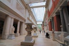 Escultura europea Pasillo Imágenes de archivo libres de regalías