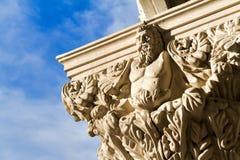 Escultura exterior do busto Imagem de Stock