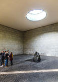 Escultura famosa do artista Kaethe Kollwitz no Wac berlinês Foto de Stock
