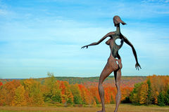 Escultura femenina Fotografía de archivo libre de regalías