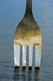 Escultura a forquilha Foto de Stock Royalty Free