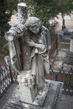 Escultura funerária Foto de Stock Royalty Free