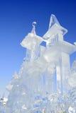 Escultura gelada Fotografia de Stock Royalty Free