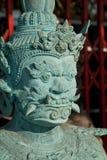 A escultura gigante verde Imagem de Stock Royalty Free
