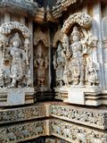 Escultura hindú fotografía de archivo