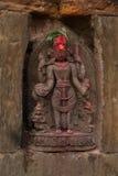 Escultura hindú de la diosa Foto de archivo libre de regalías