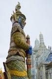 Escultura histórica gigante tailandesa fotografía de archivo