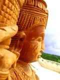 Escultura india Fotografía de archivo