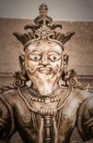 Escultura india de la deidad Foto de archivo libre de regalías