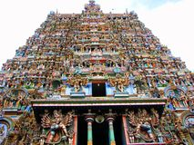 Escultura india del templo Fotos de archivo libres de regalías