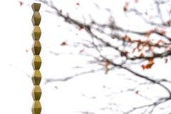 A escultura infinita da coluna no outono imagem de stock royalty free