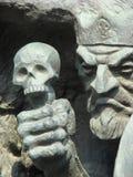 Escultura Kashcey el carácter inmortal imágenes de archivo libres de regalías