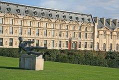 Escultura L'Air por Aristide Maillol em DES Tuileries de Jardin, Paris Fotografia de Stock