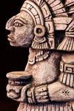 Escultura maia Fotografia de Stock Royalty Free