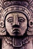 Escultura maia Imagens de Stock Royalty Free