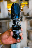 Escultura maya Imágenes de archivo libres de regalías