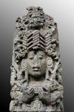 Escultura maya antigua Imágenes de archivo libres de regalías
