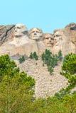 Escultura memorável nacional do Monte Rushmore Fotos de Stock