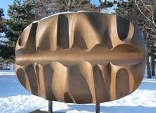 Escultura moderna imagem de stock royalty free