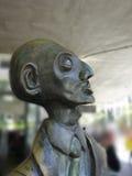 Escultura moderna de un hombre. Foto de archivo libre de regalías