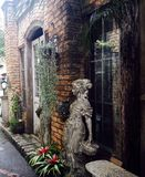 Escultura-mulher Lizenzfreies Stockfoto